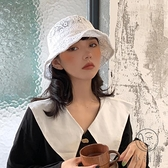 花朵鏤空防曬遮陽帽蕾絲漁夫帽女韓版百搭潮遮臉薄款【小酒窩服飾】