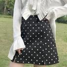 半身裙韓版百搭波點可愛小短裙