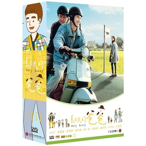 長不大的爸爸 DVD ( 張書豪/李佳穎/賀一航/林美照/陳乃榮/謝沛恩/米可白 )