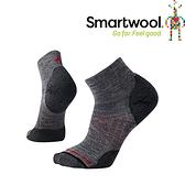 【SmartWool 美國 男款 Phd戶外輕量減震低筒襪《中性灰》】SW001066/排汗襪/保暖襪/抗臭襪