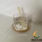 日式扭扭方形玻璃水杯扭曲威士忌杯復古小眾異形咖啡杯【創世紀生活館】