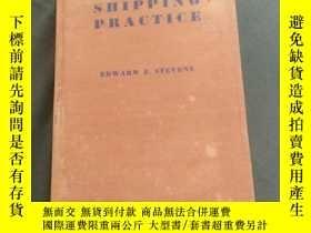 二手書博民逛書店SHIPPING罕見PRACTICEY395388 EDWARD F. STEBENS 倫敦艾薩克皮特曼父子有