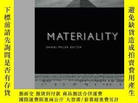 二手書博民逛書店Materiality罕見(politics, History, And Culture)-物質性(政治、歷史和文