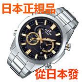 免運費包郵 日本正規貨 CASIO 卡西歐手錶 EDFICE EQW-T640D-1A9JF 太陽能多局電波手錶 時尚商务男錶
