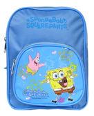 【卡漫城】 海綿寶寶 迷你 後背包 粉藍 高23cm  ㊣版 小於A4 SpongeBob 書包 Patrick 派大星