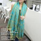 韓國新款 波斯圖騰 披肩/圍巾/ 防曬絲巾 M0013 ◆ 韓妮小熊