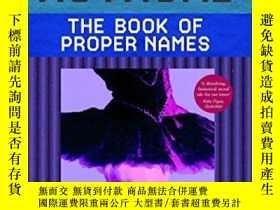 二手書博民逛書店The罕見Book Of Proper NamesY256260 Amelie Mothomb Faber &