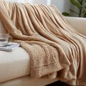 小毛毯被子雙層加厚保暖單人蓋腿午睡