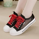 網面帆布鞋女2021新款透氣韓版百搭小白鞋輕便女學生網紗鏤空板鞋 快速出貨