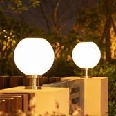 太陽能柱頭燈戶外門柱燈