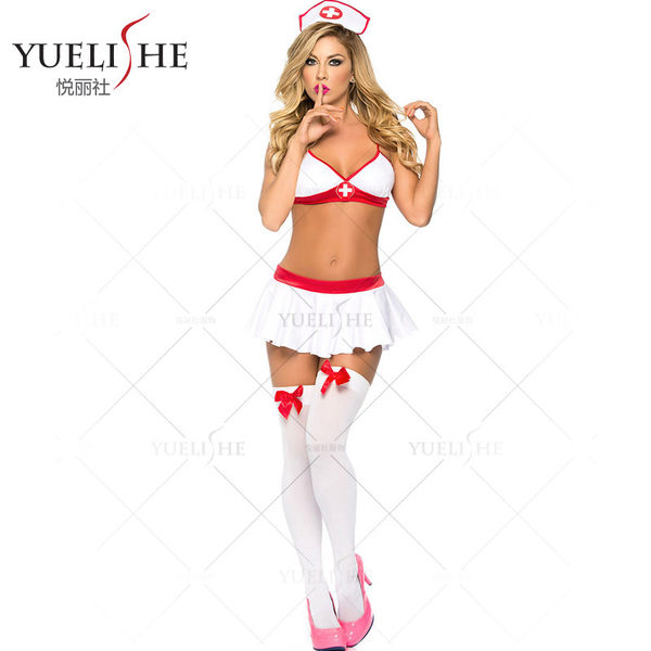 ♥♥衣美姬♥醉人迷戀 角色扮演 護士裝 性感火辣 誘惑制服 派對扮演小護士