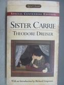 【書寶二手書T1/原文小說_MQP】Sister Carrie_Theodore Dreiser