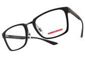PRADA 光學眼鏡 VPS06L UFK-1O1 (霧灰) 方框款 #金橘眼鏡