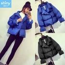 【V2605】shiny藍格子-暖冬呈現...