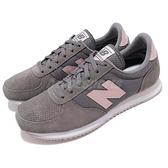 New Balance 復古慢跑鞋 220 NB 灰 粉紅 麂皮 尼龍 基本款 運動鞋 女鞋【ACS】 WL220TGB