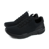 SKECHERS Air-Cooled MEMORY FOAM 休閒運動鞋 男鞋 黑色 52928BBK no001