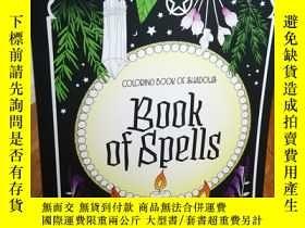 二手書博民逛書店Coloring罕見Book of Shadows: Book