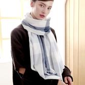 羊毛披肩-拼色格紋毛邊女圍巾4色73wq11【時尚巴黎】