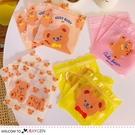 韓國可愛小熊夾鏈袋 糖果密封袋 飾品收納袋 包裝袋