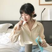 韓國女裝 極簡風長袖襯衫 5色售 【C0563】 韓妞穿搭必備 阿華有事嗎