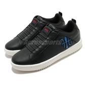 Royal Elastics 休閒鞋 Icon Manhood 2.0 黑 藍 男鞋 無鞋帶 時尚 運動鞋【ACS】 06502995