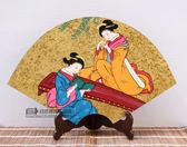 日式手工漆畫擺臺酒店裝飾用品和風家居居酒屋餐廳料理店仕女擺件「Top3c」