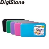 ◆優惠包◆免運費◆DigiStone 光碟片收納包 冰晶 漢堡盒 48片裝 CD/DVD硬殼拉鍊收納包x5個