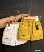 男童裝夏季褲子五分褲薄款兒童工裝短褲韓版寶寶休閒潮褲新款 雙十二全館免運
