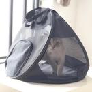 寵物包外出便攜貓包可摺疊輕便貓籠子貓咪狗狗旅行外帶透氣手提包 台北日光