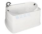 【麗室衛浴】BATHTUB WORLD 長型壓克力浴缸 LS-7420 帶牆 133*93*63cm