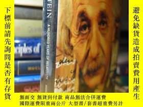 二手書博民逛書店精裝大本罕見愛因斯坦 百年相對論 Einstein : A Hundred Years of Relativity