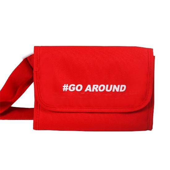 腰包 肩背包 側背包 斜背包 防盜 收納袋 出國 旅遊 證件包 防潑水 多背式斜背包【J135】MY COLOR