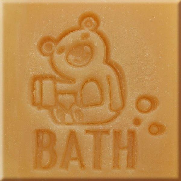 【香草工房】 風格皂章~B041 貝斯熊