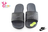 NIKE拖鞋 男女款 BENASSI SOLARSOFT 防水拖鞋O7076#黑灰◆OSOME奧森童鞋