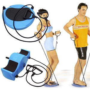 樂逍遙多功能運動機.健美輪健腹機健腹器扭扭盤扭腰盤帶拉力繩拉力器彈力繩彈力帶瑜珈健身器材