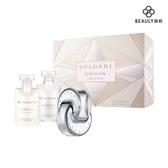 BVLGARI 寶格麗 OMNIA 晶澈白水晶淡香水禮盒組 (40ml+沐浴+身體乳)《BEAULY倍莉》