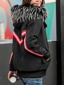 棉服女短款2020新款時尚外套百搭棉襖韓版bf寬鬆學生冬季羽絨棉衣