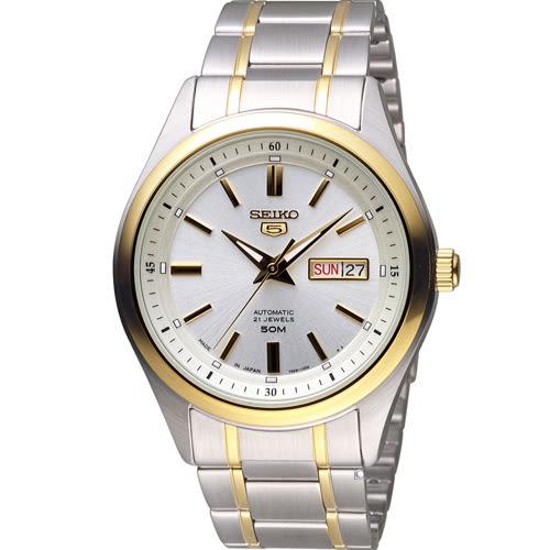 SEIKO 精工 經典五號紳士機械錶 7S26-04M0K SNKN92J1