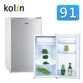 Kolin歌林 91公升單門電冰箱 KR-110S03~台灣製