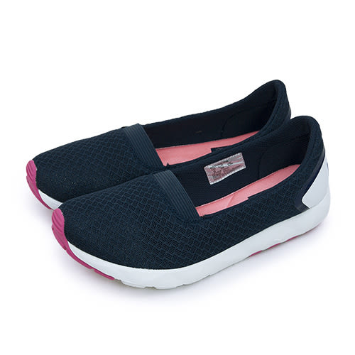 LIKA夢 PONY 極簡時尚休閒鞋 FREE 科技記憶鞋墊系列 深藍粉 62W1FR63DB 女