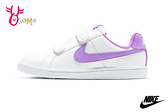 NIKE COURT ROYALE (PSV) 中童 休閒鞋 板鞋 運動鞋 親子鞋 P7102#白紫◆OSOME奧森鞋業