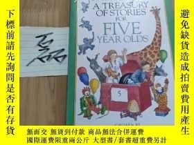 二手書博民逛書店a罕見treasury of stories for five year oldsY15335 見圖 見圖