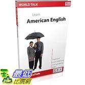 [106美國直購] 2017美國暢銷軟體 EuroTalk Interactive - World Talk! American English (US)
