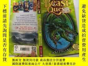 二手書博民逛書店the罕見sea serpent 海蛇Y200392