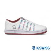 K-SWISS Classic 88 Peanuts史努比聯名 休閒運動鞋-女-白/粉紅