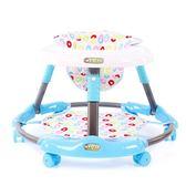 嬰兒學步車67-18個月寶寶兒童學步車防側翻可折疊起步寶寶學行車