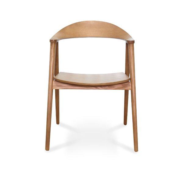 Nora諾拉木作休閒單人椅 餐椅 休閒椅【DD House】