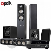 PolkAudio 5.1聲道家庭劇院組 (S50+S35+OWM3 + YAMAHA RX-V485 5.1聲道擴大機 + FF6.5重低音)