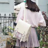 書包女韓版原宿高中大學生雙肩包森繫bf風格子背包花間公主