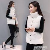反季馬甲女冬短款加厚韓版棉馬甲女學生百搭外套坎肩    傑克型男館